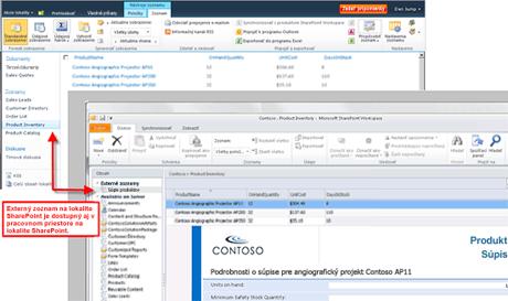 Prístup k zdrojom externých údajov a vykonávanie zmien v zdrojoch externých údajov